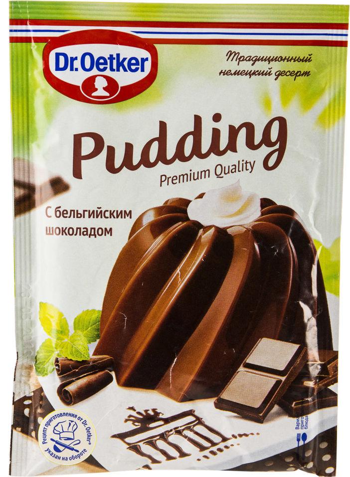 Пудинг Dr.Oetker с бельгийским шоколадом 54г