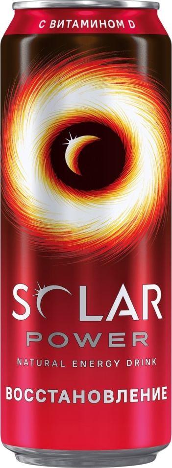 Напиток Solar Power Рекавери энергетический 450мл