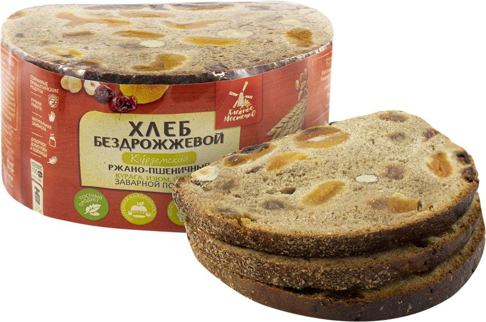 Хлеб Хлебное местечко Курземский ржано-пшеничный с курагой изюмом и фундуком нарезка 270г