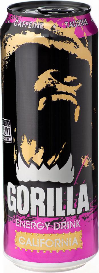 Энергетический напиток Gorilla California 450мл