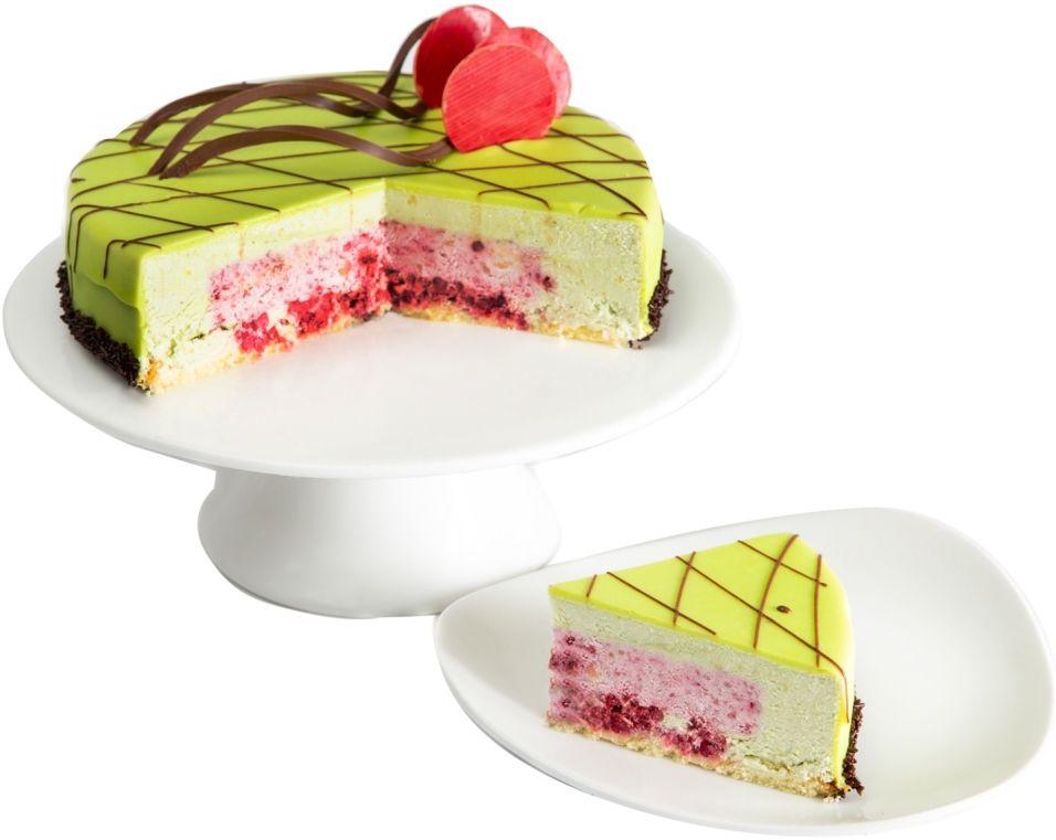 Торт Ресторанная коллекция Фисташково-малиновый 1.1г