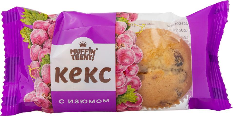 Кекс Muffin Teeny с изюмом 2шт*33г