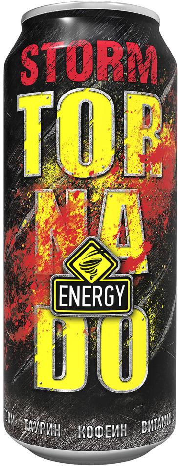 Напиток Tornado Storm энергетический 450мл (упаковка 12 шт.)