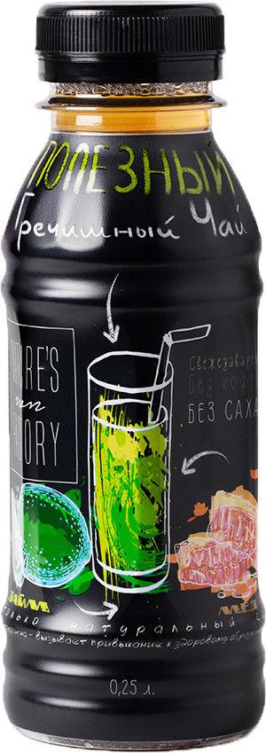 Чай гречишный Natures Own Factory со вкусом Лайма и Мёда 250мл