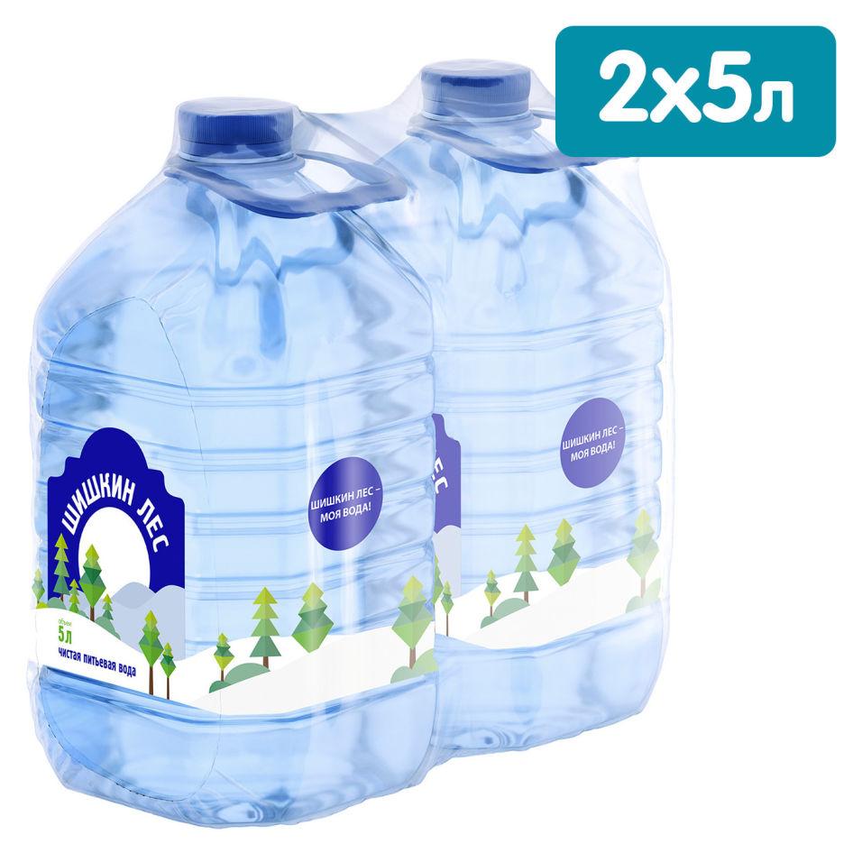 Вода Шишкин Лес питьевая негазированная 5л (упаковка 4 шт.)