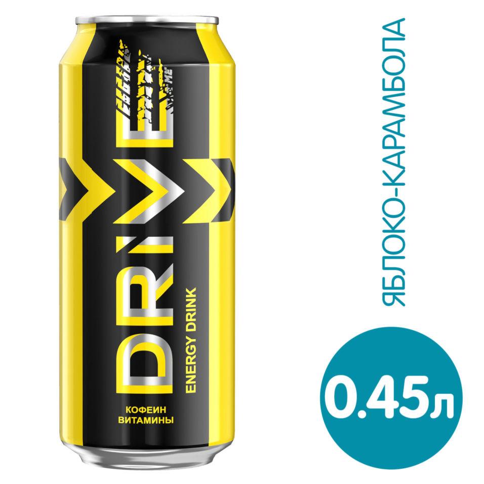 Напиток Drive me энергетический Яблоко-Карамбола 449мл