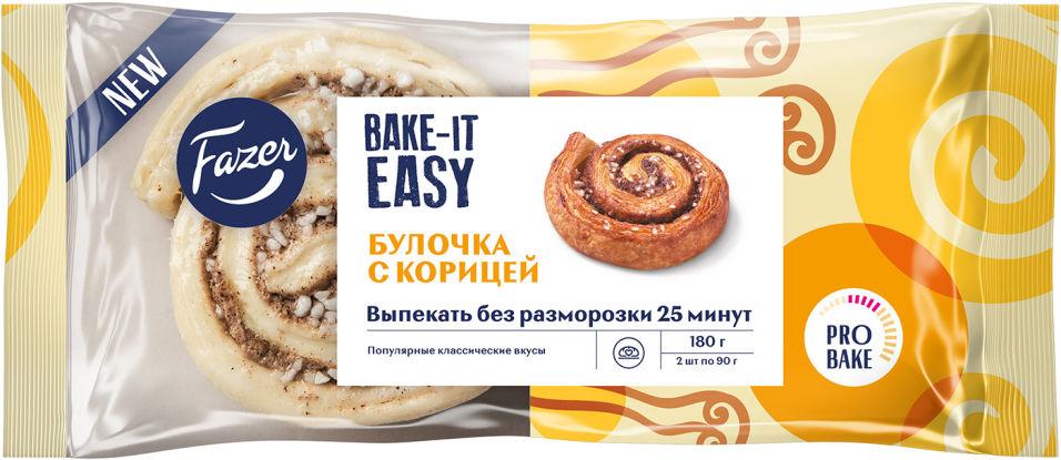 Булочка Fazer Bake-It Easy с корицей для выпечки замороженная 2шт*90г
