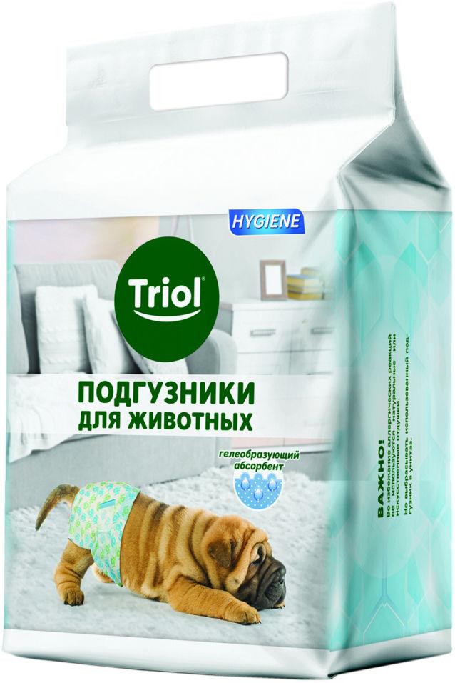 Подгузники для собак Triol размер M до 15кг 12шт