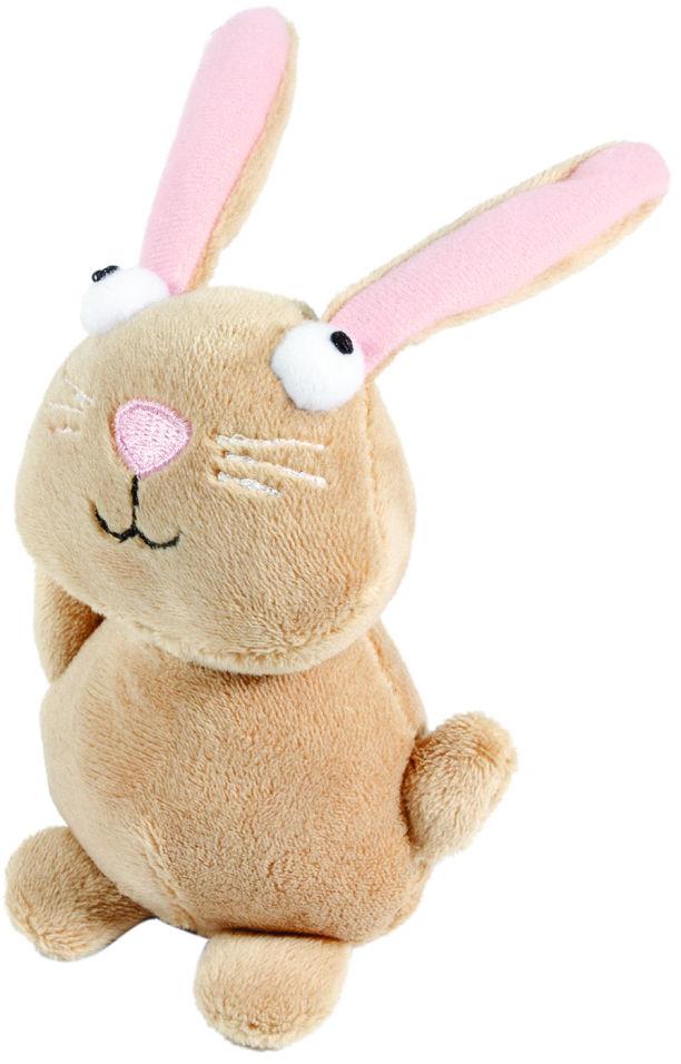 Игрушка для собаки GiGwi Кролик с пищалкой