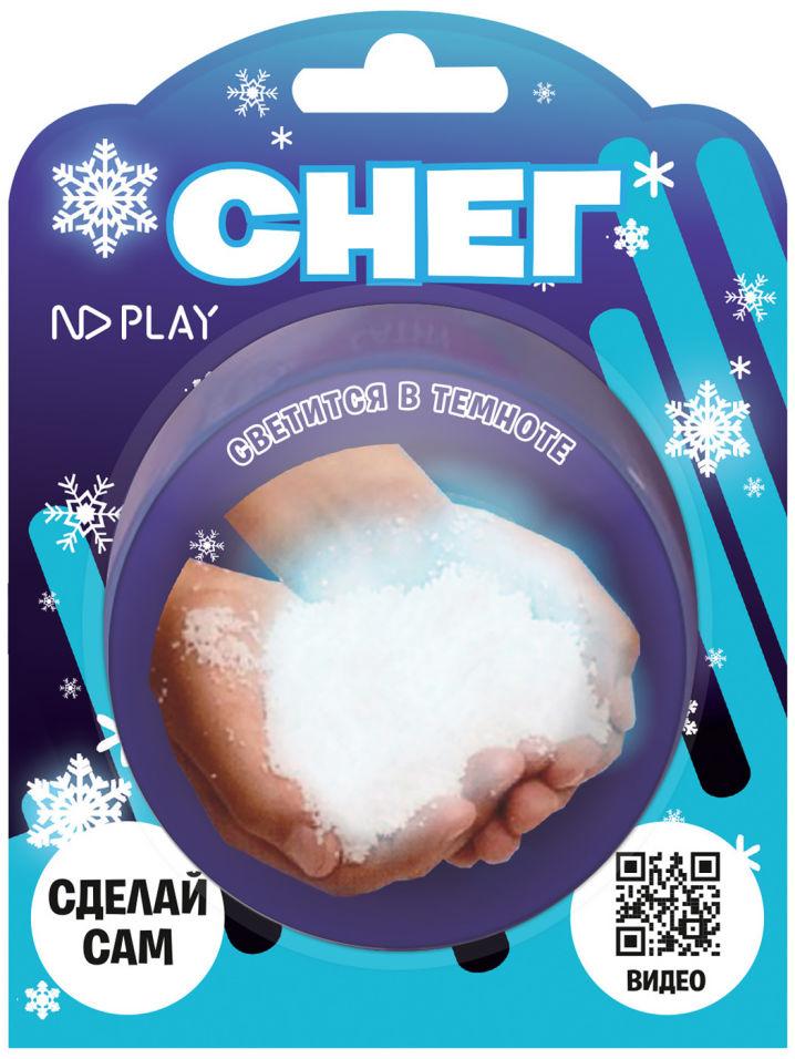 Набор для опытов ND Play Светящийся снег