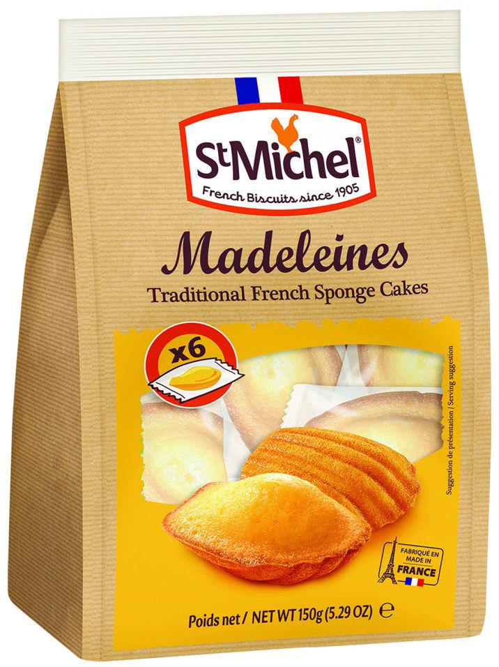 Бисквит St Michel Мадлен французский традиционный 150г