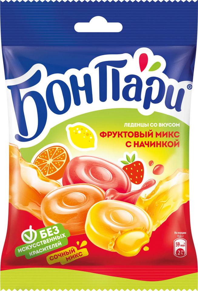 Леденцы Бон Пари фруктовый микс 75г