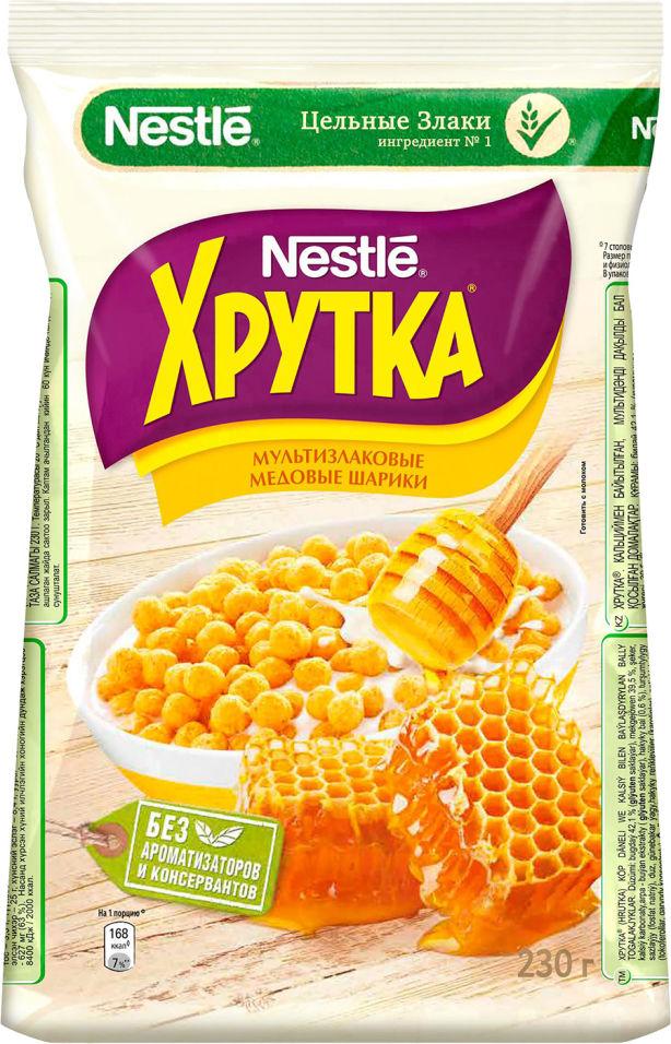 Готовый завтрак Хрутка Медовые шарики 230г