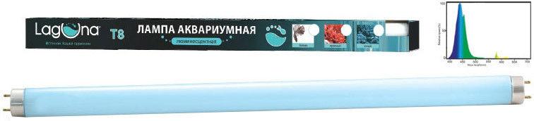 Лампа для аквариумов Laguna T8 синяя люминесцентная 20Вт 59.5см