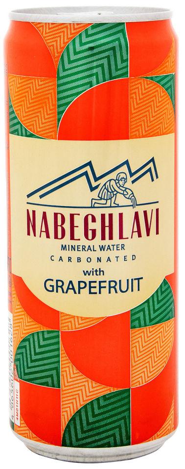 Напиток Набеглави на основе минеральной воды с ароматом Грейпфрута 330мл