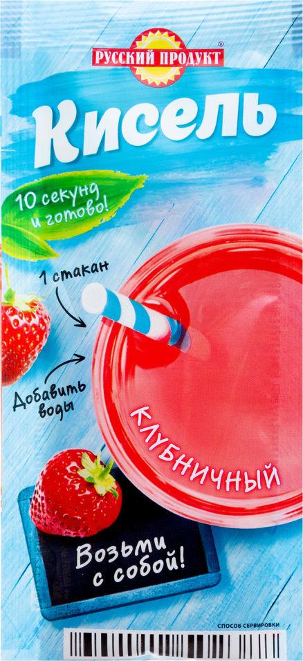 Кисель Русский продукт Клубничный 25г