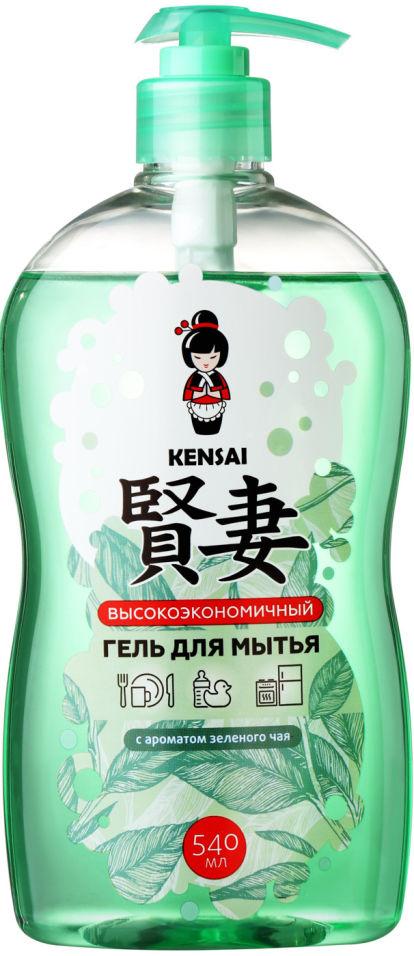 Средство для мытья посуды Kensai Зеленый чай 540мл