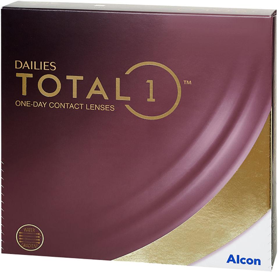 Контактные линзы Dailies Total 1 Однодневные -3.00/14.1/8.5 90шт