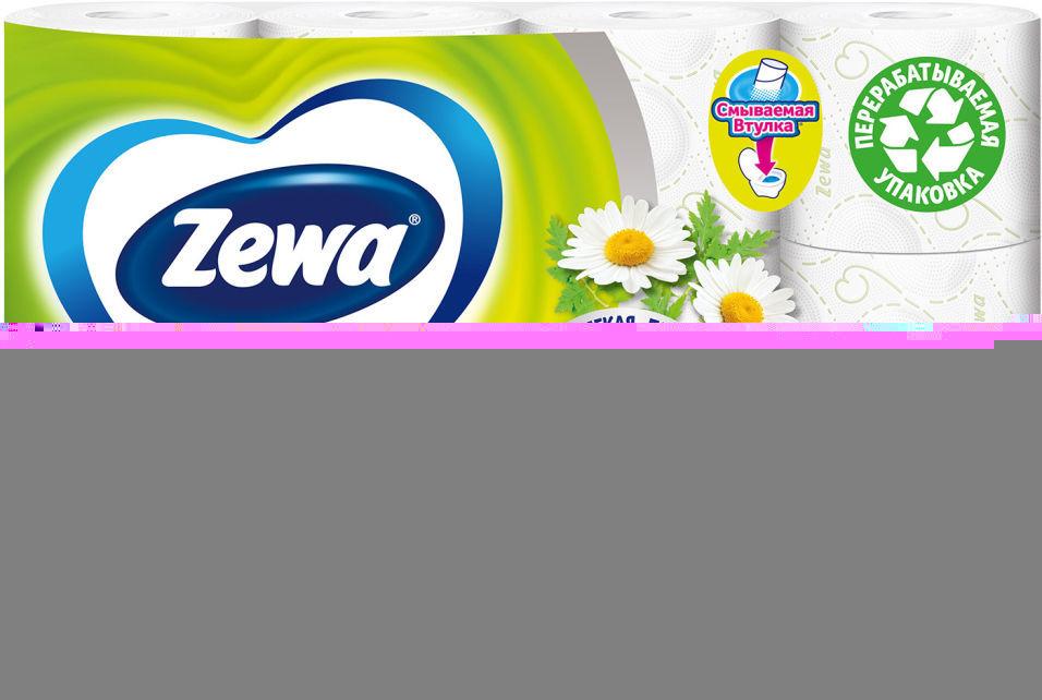 Отзывы о Туалетной бумаге Zewa Deluxe Camomile Comfort 12 рулонов 3 слоя