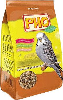 Отзывы о Корме для птиц Rio для волнистых попугаев в период линьки 500г