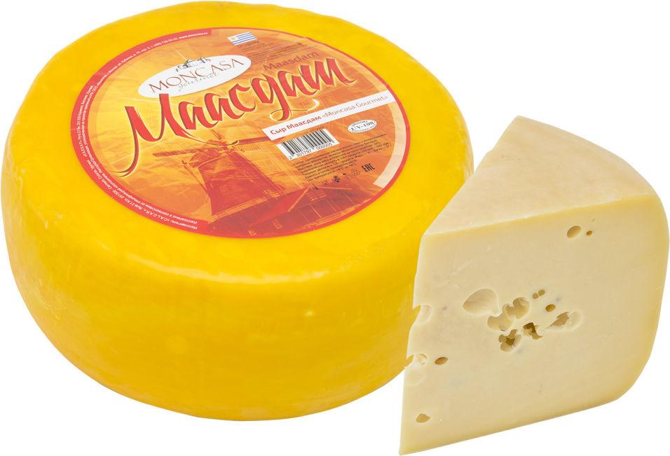 Отзывы о Сыр Moncasa Gourmet Маасдам 48% 0.2-0.4кг
