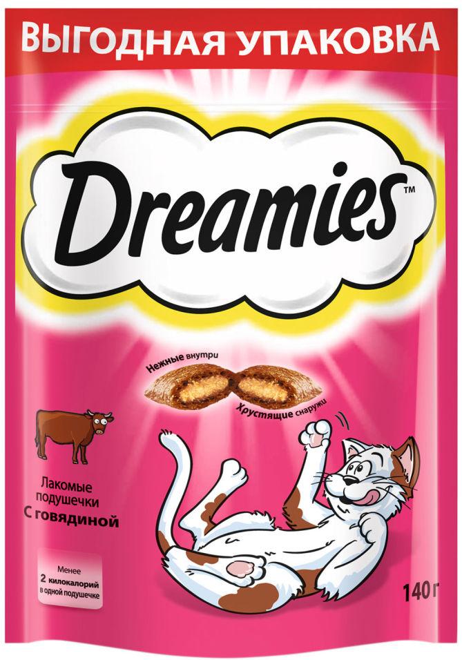 Лакомство для кошек Dreamies с говядиной 140г