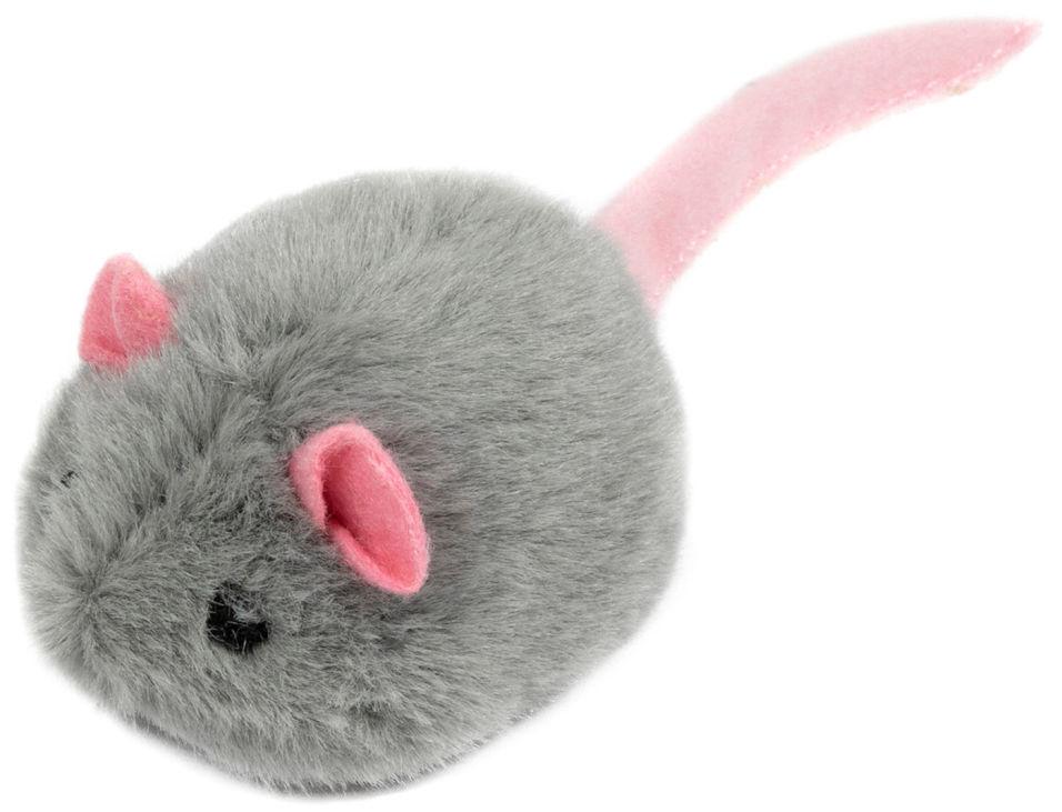 Игрушка для кошки GiGwi Мышка со звуком