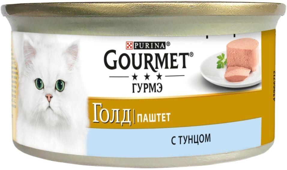 Отзывы о Корм для кошек Gourmet Gold Паштет с тунцом 85г