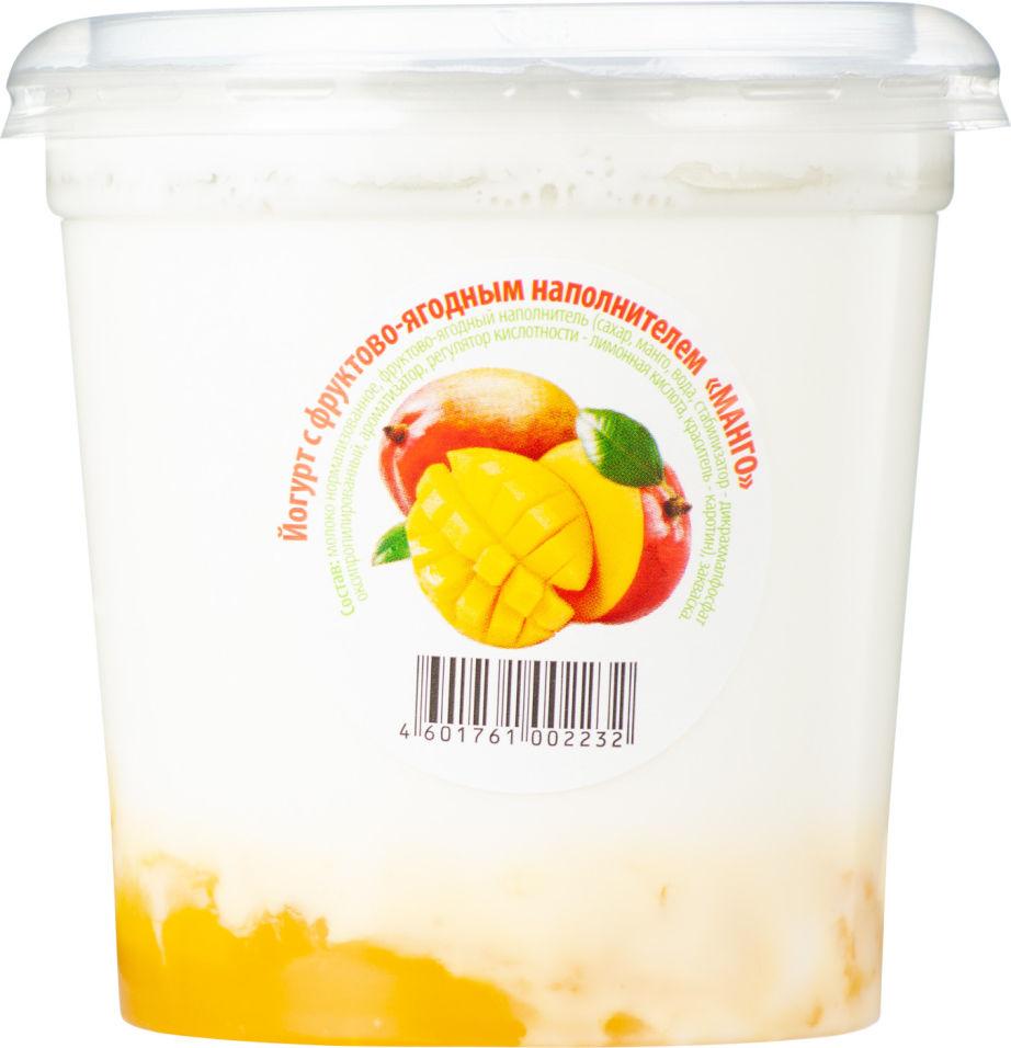 Отзывы о Йогурте ЦарКа Манго 3.5% 400г