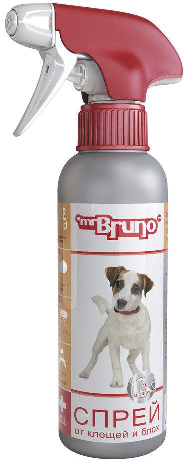 Спрей для щенков Mr. Bruno репеллентный от клещей и блох 200мл