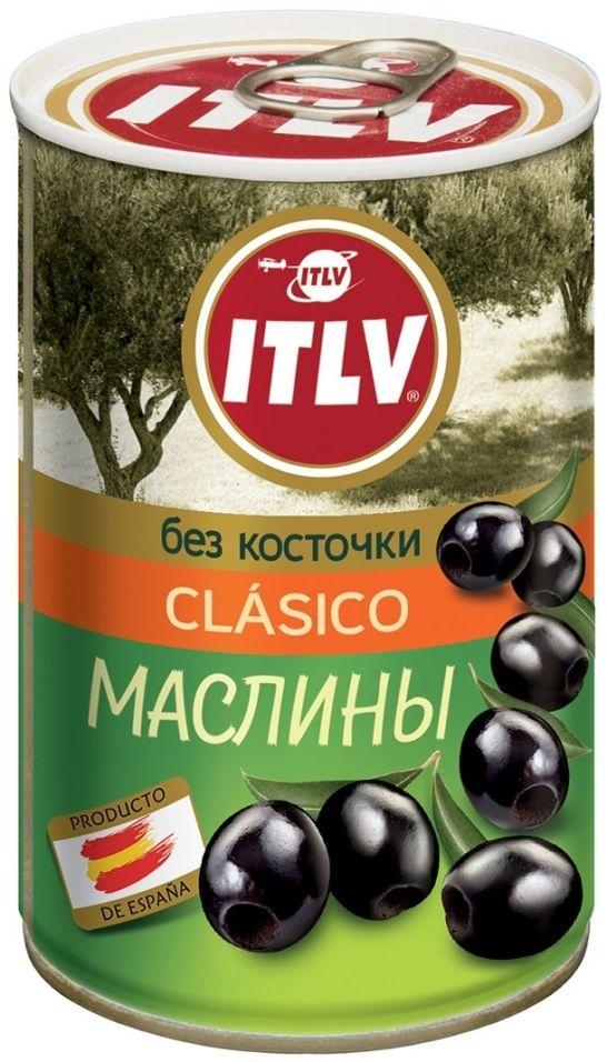 Маслины ITLV Clasico без косточки 314мл