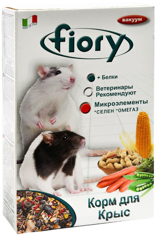 Отзывы о Корме для грызунов Fiory для крыс 850г