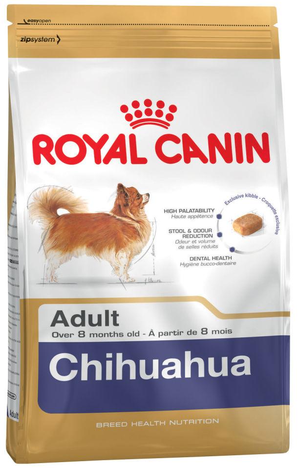 Отзывы о Сухом корме для собак Royal Canin Adult Chihuahua Птица 1.5кг