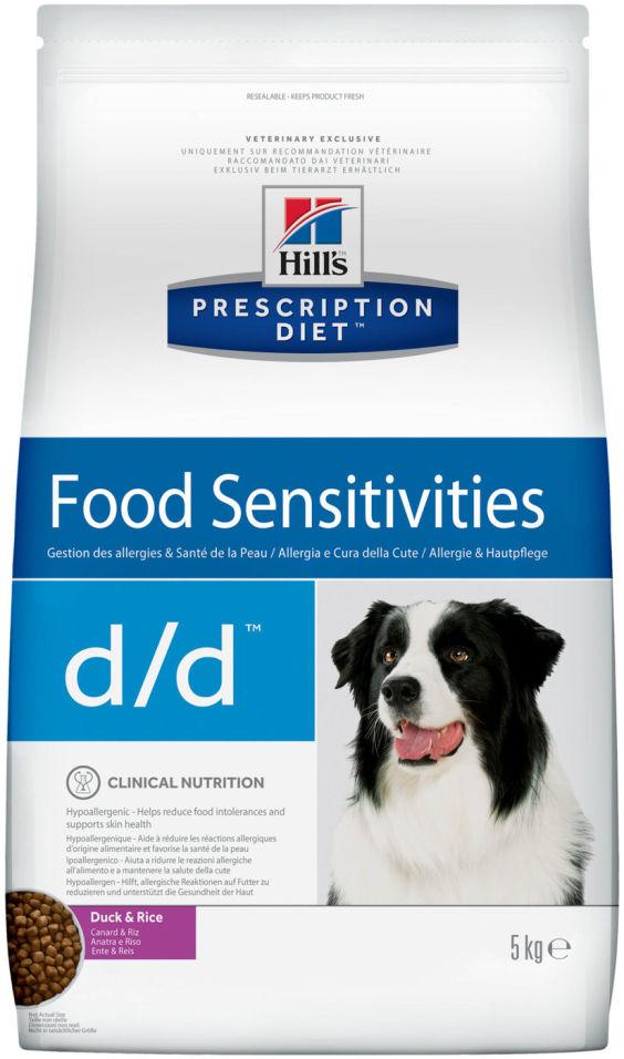 Сухой корм для собак Hills Prescription Diet при аллергии с уткой и рисом 5кг