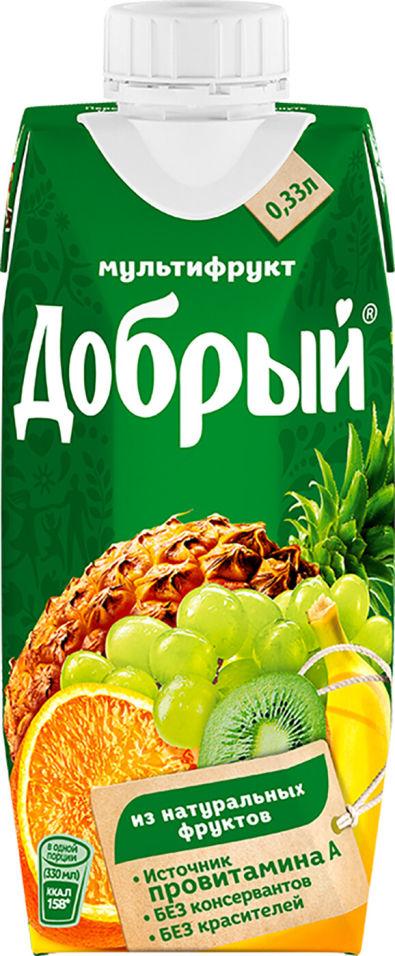 Нектар Добрый Мультифрут 330мл