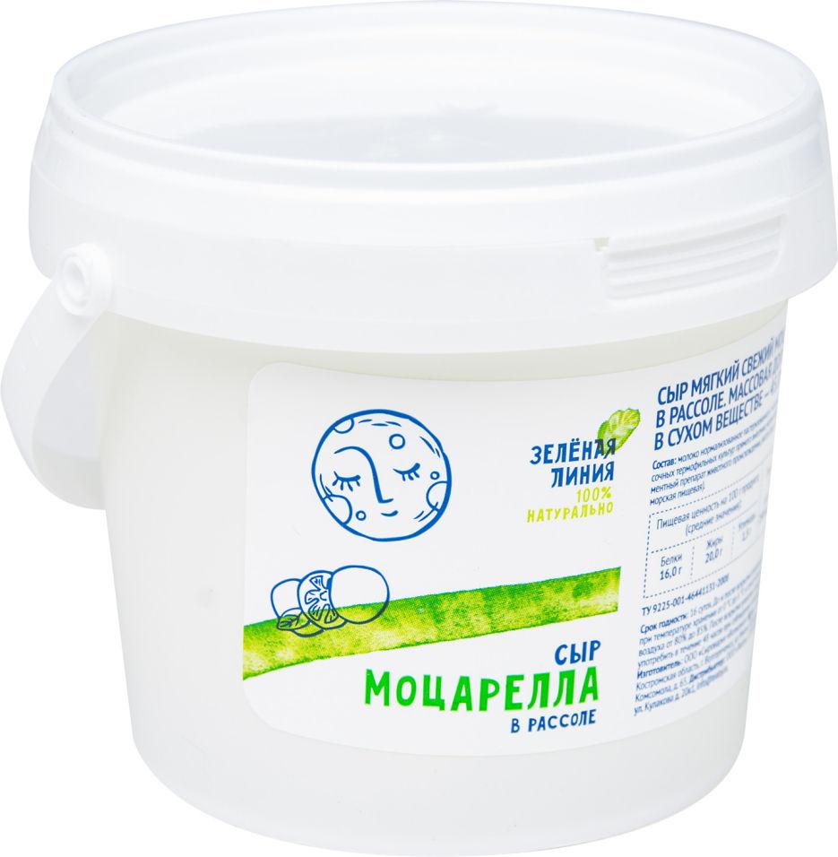 Отзывы о Сыре Зеленая линия Моцарелла в рассоле 45% 130г