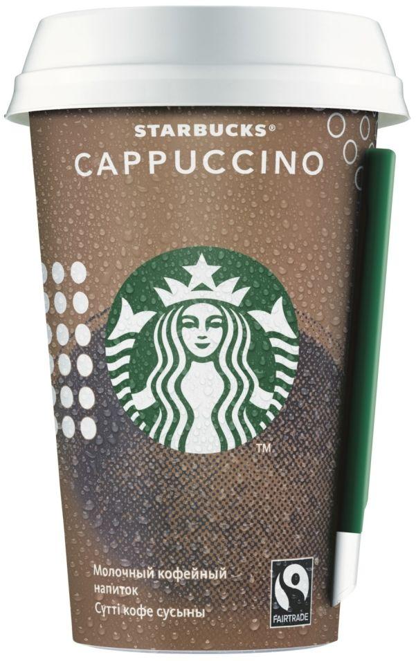 Отзывы о Напитке Starbucks Cappuccino 220мл