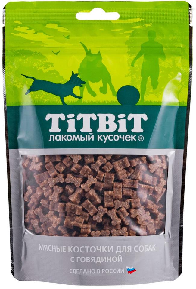 Лакомство для собак TiTBiT Косточки мясные с говядиной 145г