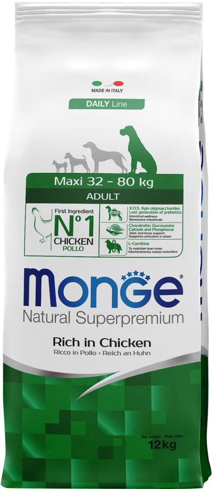 Отзывы о Корме для собак Monge Dog Maxi для крупных пород 12кг