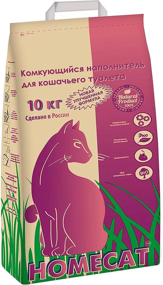 Наполнитель для кошачьего туалета Homecat 10кг