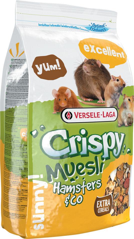Корм для грызунов Padovan Crispy Muesli Hamster для хомяков 400г