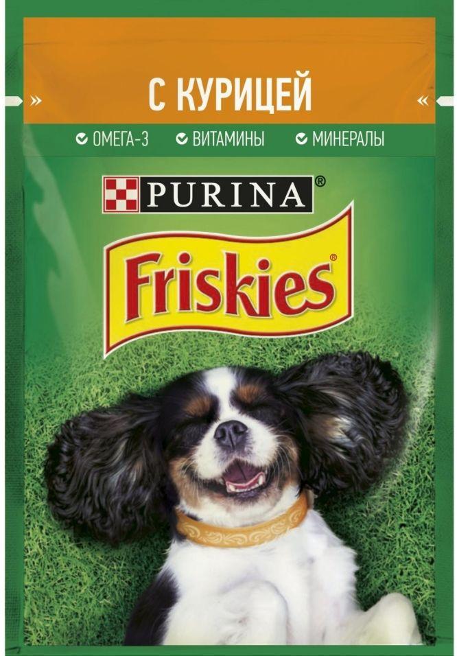 Отзывы о Корме для собак Friskies с курицей в подливе 85г