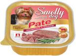 Корм для собак Зоогурман Smolly dog Pate Телятина с языком 100г