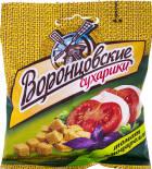 Сухарики Воронцовские пшеничные Томат и Моцарелла 40г