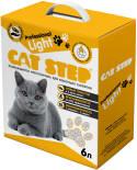 Наполнитель для кошачьего туалета Cat Step Professional Light комкующийся 6л