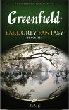 Чай черный Greenfield Earl Grey Fantasy 200г