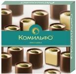 Конфеты Комильфо шоколадные Фисташка 232г