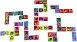 Игра настольная детская Dream Makers Домино 28 элементов