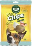 Лакомство для собак Triol Fun Food Чипсы со вкусом курицы 100г