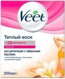 Воск для депиляции Veet Теплый с эфирными маслами 250мл